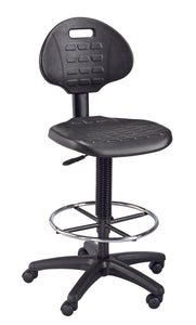 ALVIN® LabTek™ Black Utility Chair - Modern School Supplies, Inc.