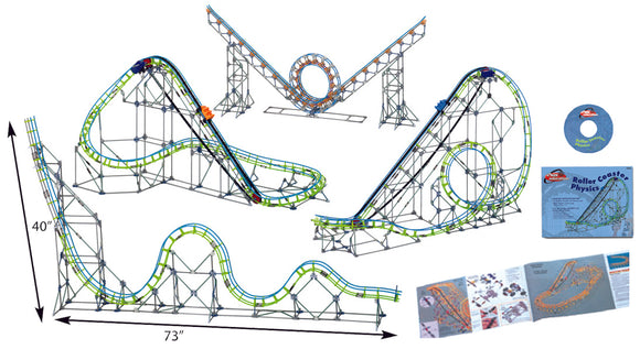 K'NEX® Roller Coaster Physics Set