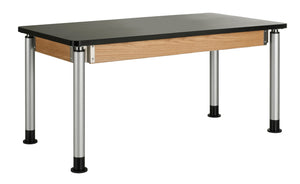"DIVERSIFIED® Adjustable Height Table, 30"" x 60"""