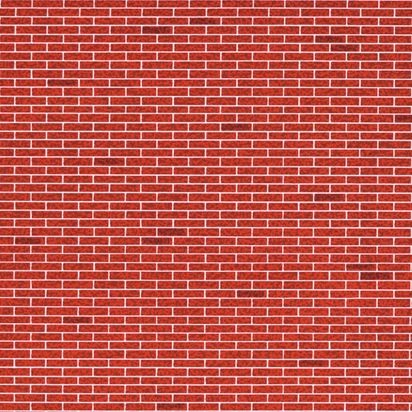 Architectural Model-Building Materials – BRICK RED (PDK101)