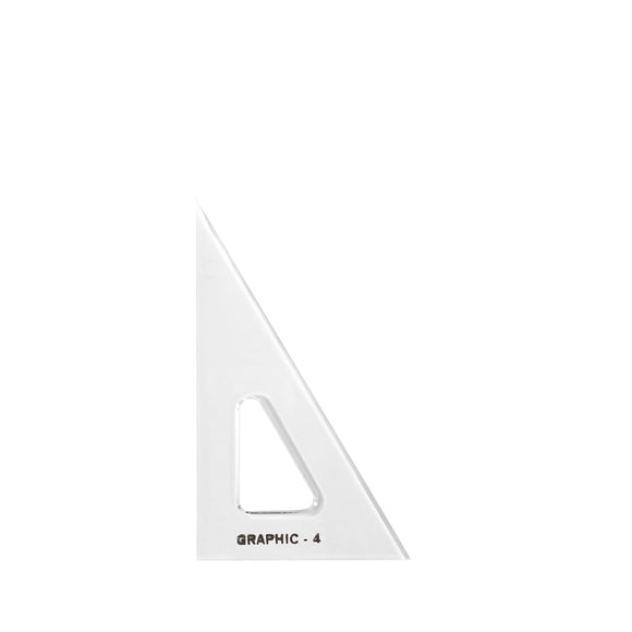 ALVIN® Academic Transparent Triangles - Modern School Supplies, Inc.