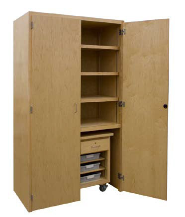 HANN® Large Capacity Project Storage Cabinet - Modern School Supplies, Inc.