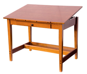 ALVIN® Vanguard™ Rubber Wood Drawing Table - Modern School Supplies, Inc.