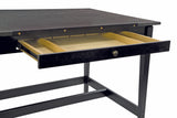 ALVIN® Vanguard™ Black Ash Drawing Table - Modern School Supplies, Inc.