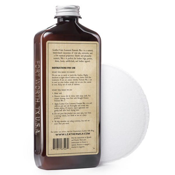 Leather Care Liniment No.1 - Turtle Ridge Gallery