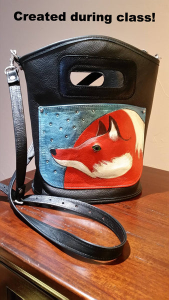Art Camp - Special Class - Custom Leather Bag $550 / $200 deposit