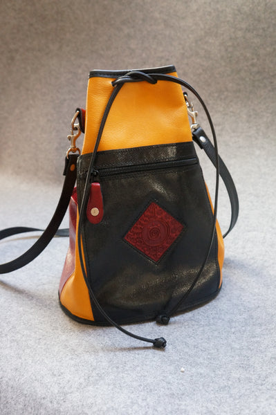 "Art Camp - ""Cross Body Bag"" $350 - Turtle Ridge Gallery"