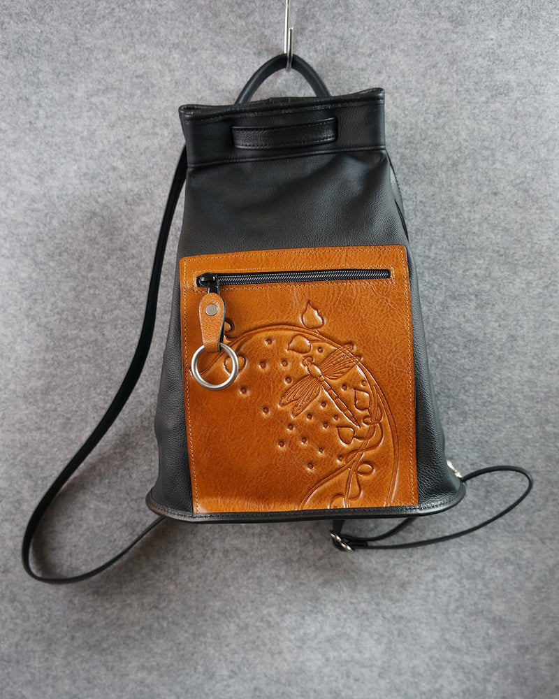 Drawpack with Embossed Pocket - Turtle Ridge Gallery