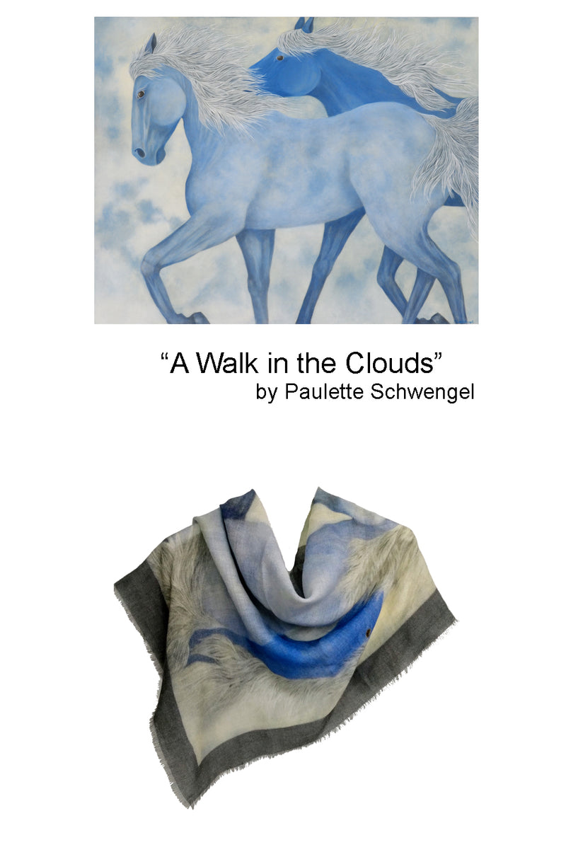 Art Scarf/Shawl - Turtle Ridge Gallery