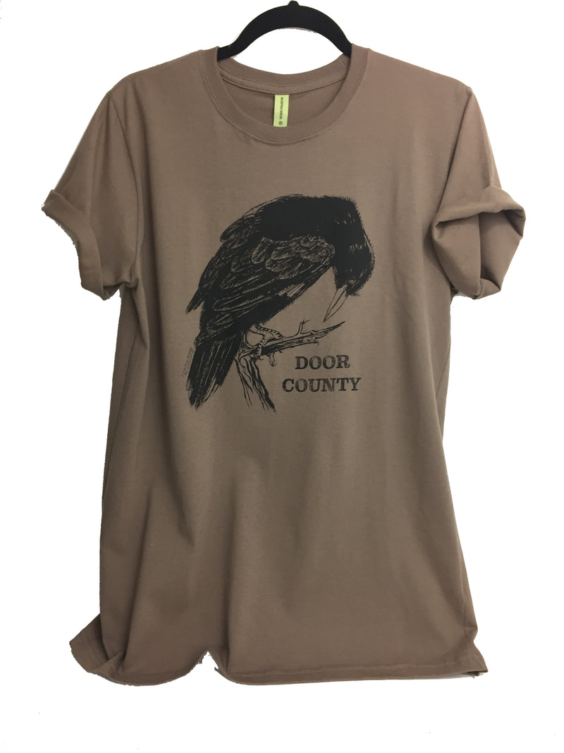 Turtle Ridge Crow Tee - Turtle Ridge Gallery