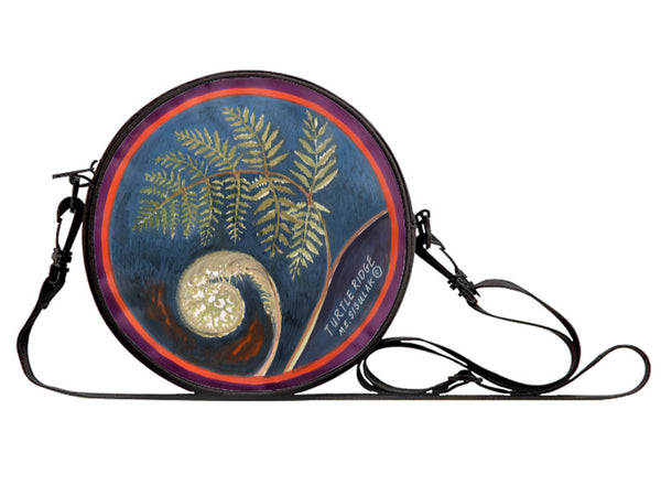 Canvas Round Art Bag - ME Originals - Turtle Ridge Gallery