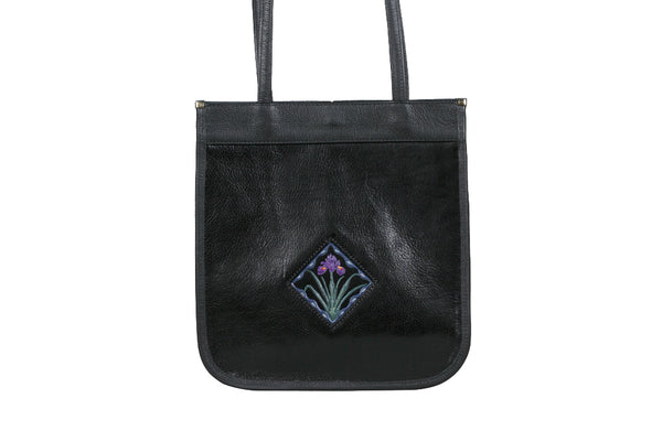 Small Tote - Black/Iris