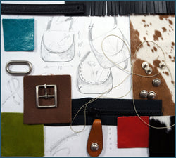 Art Camp - Special Class - Custom Leather Bag $550 - Turtle Ridge Gallery