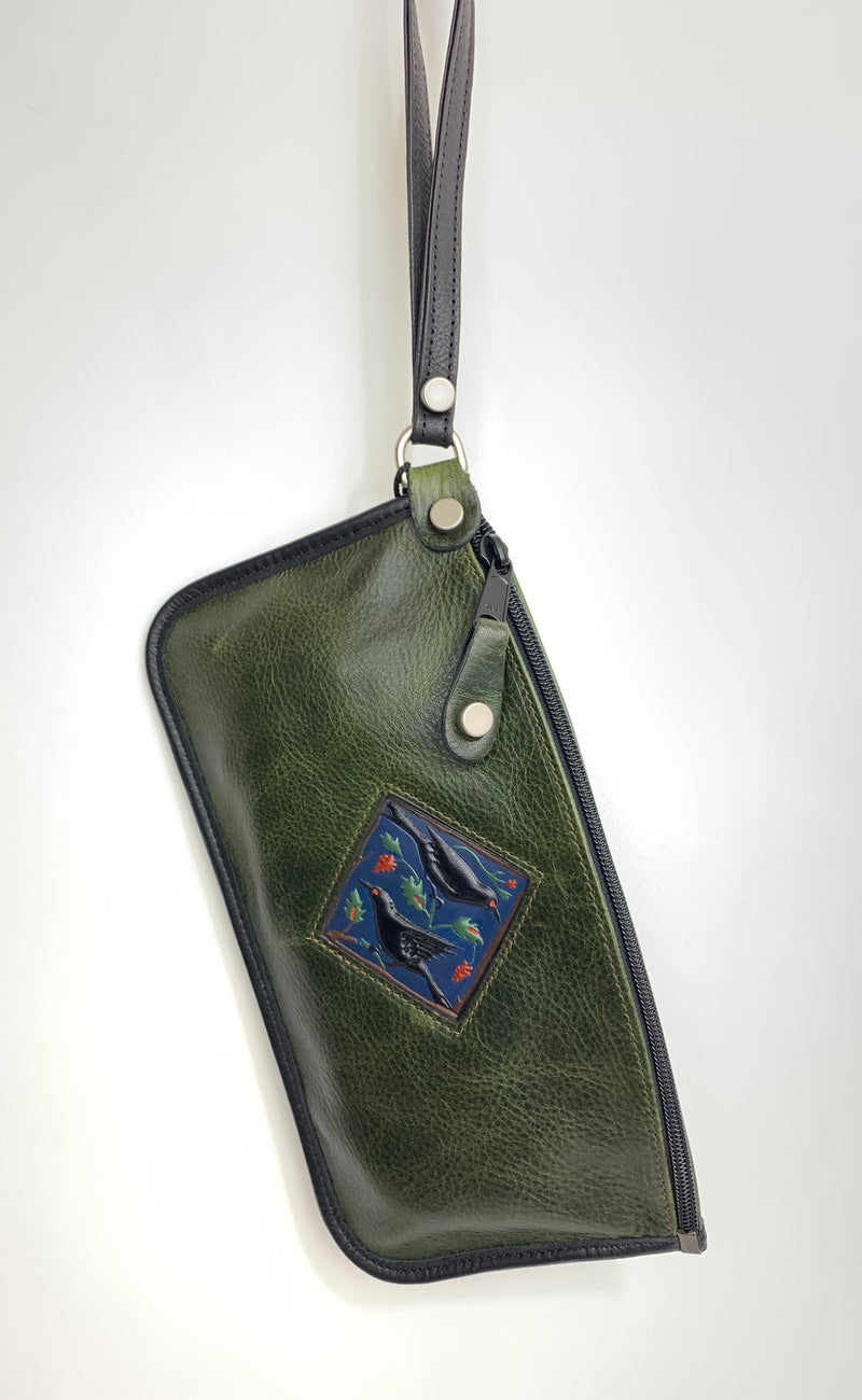 Large Zip Clutch - Turtle Ridge Gallery