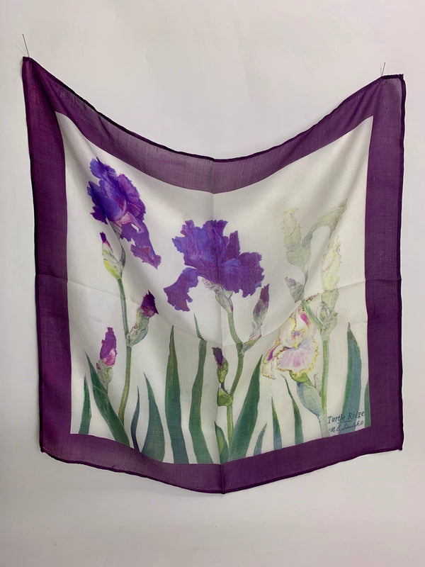 Silk neck scarf - Turtle Ridge Gallery