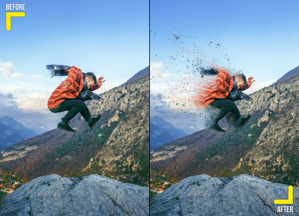 Dispersion effect of a hiker