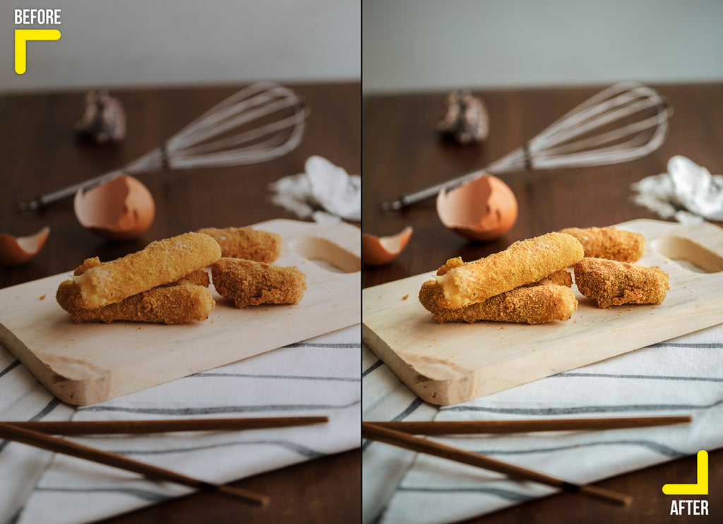 Nuggets food retouching