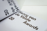 Henry van de Velde Awards 20 catalogus / catalogue (NL/EN)