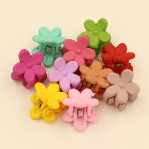 8Pcs Baby Girl Cute Sweet Hairpin Grasping Clip