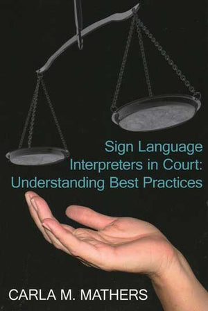 Sign Language Interpreters in Court Soft Cover