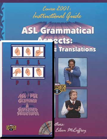 Sign Enhancers ASL Grammatical Aspects Guide & DVD