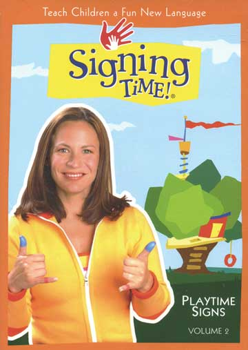 Signing Time Series 1: Playtime Signs DVD 2