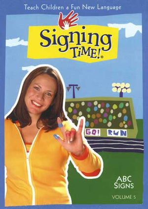 Signing Time Series 1: ABC Signs DVD 5