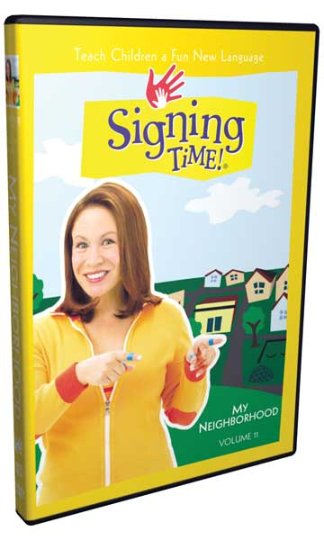Signing Time Series 1: My Neighborhood DVD 11