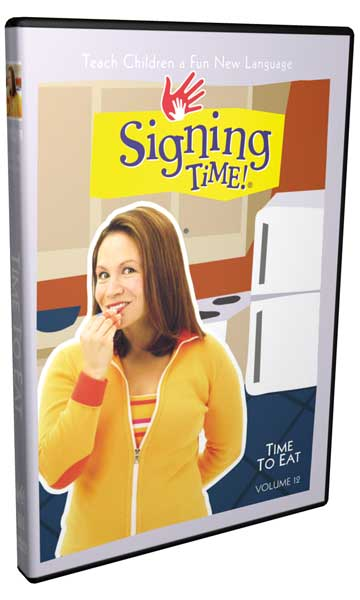 Signing Time Series 1: Time to Eat DVD 12