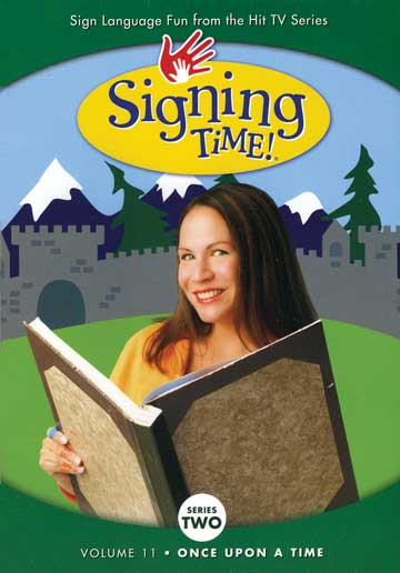 Signing Time Series 2 Vol 11: Once Upon a Time DVD