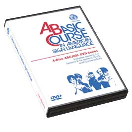 A Basic Course in American Sign Language: ABC/ASL Series 4-DVD Set