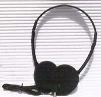 Oval Window Induction Loop Receiver Headphone