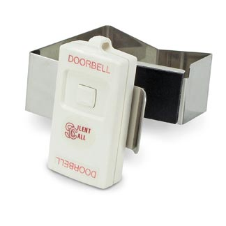 Silent Call Legacy Series Wireless Doorbell Transmitter with Bracket