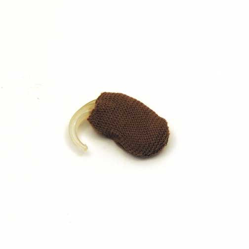Hearing Aid Medium Brown Sweatband - 1-1/4 Small""
