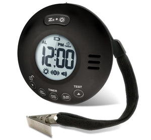 Clarity Wake Assure JOLT Vibrating Bedshaker Alarm Clock - Black