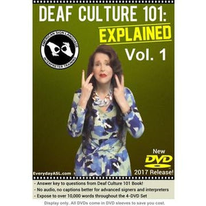 Deaf Culture 101: Explained  Vol. 1