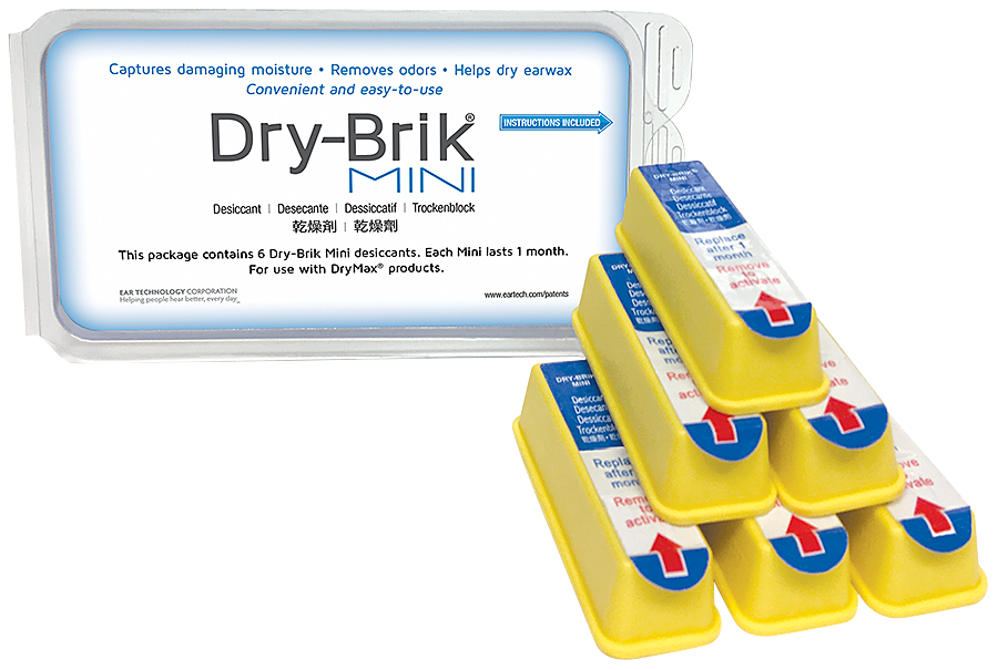 Dry Brik Desiccant for Dry Max - 6 PACK