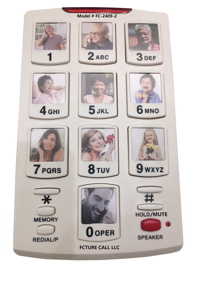FutureCall Picture Dialer Box