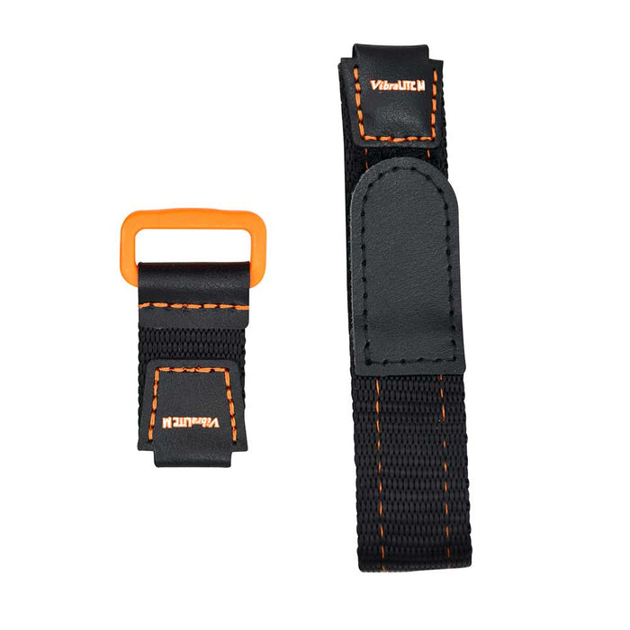 Global VibraLITE MINI Orange/Black Replacement Watch Band