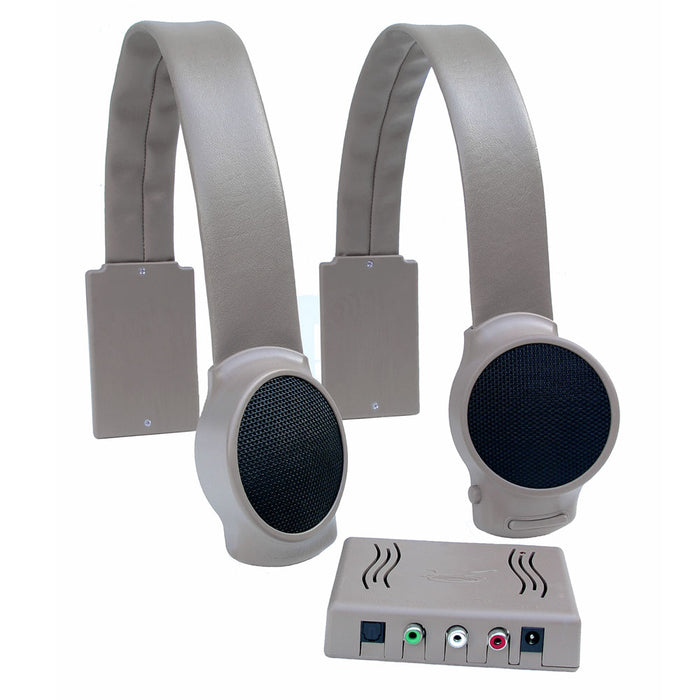 Audio Fox Gray TV Listening Speaker System