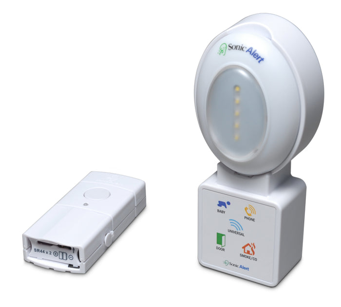 Sonic Alert HomeAware Blink LED Receiver with Doorbell