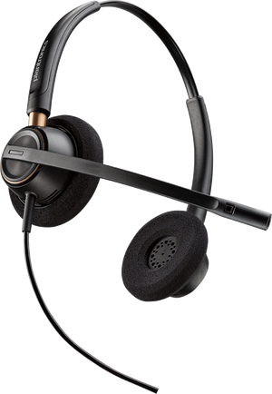 Plantronics HW520 EncorePro Noise Canceling Binaural Headset