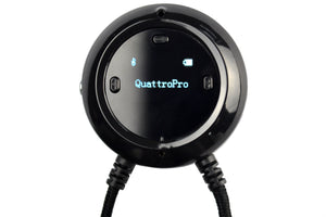 Clearsounds Quattro Pro - Portable Bluetooth Listening System and Amplifier  For use with iOS & Android Mobile Devices. Includes Detachable  Wireless Microphone