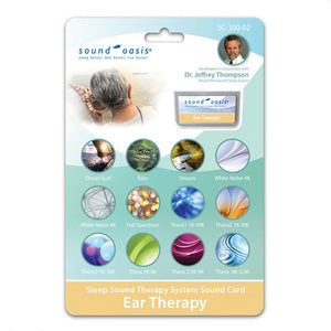 Sound Oasis Tinnitus Therapy Sound Card for S-650/S-660/S-665 Sound Therapy Systems