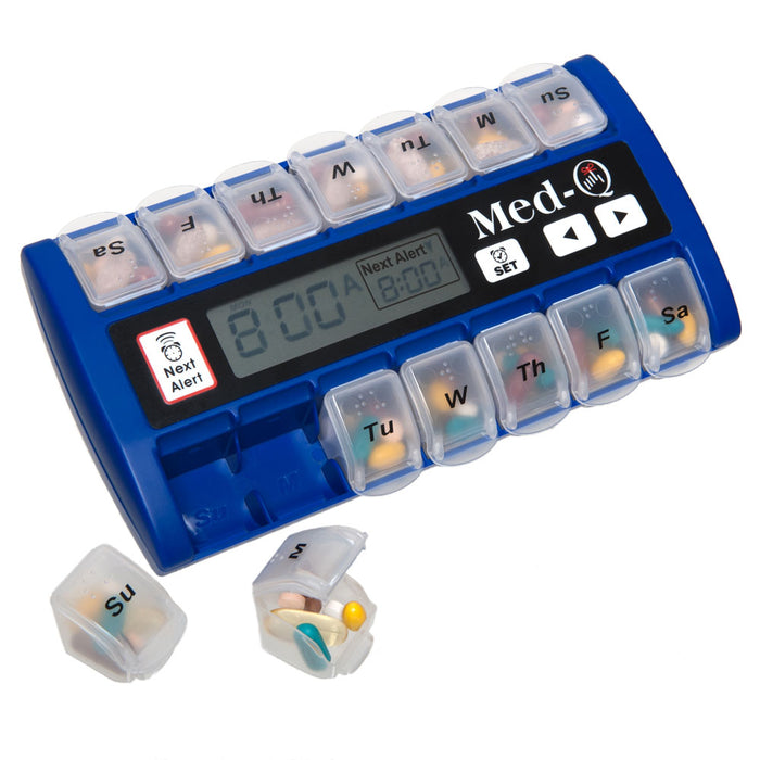 Med-Q Blue Automatic Pill Dispenser