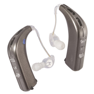 Sound World Solutions White Gold HD100 Sidekick Personal Sound Amplifier - Dual