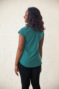 Perfect 'V' Cap Sleeve Top