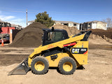 SCI WLS555 Skidsteer Scale on Cat 262D Skidsteer