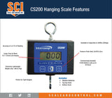 Intercomp CS200 Hanging Scales