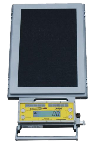 Intercomp LP600-15T Low-Profile Wheel Load Scale